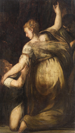 Kneeling Woman with Child