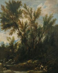 Landscape with Figures