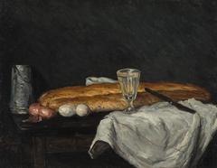 Le pain et les œufs (Still Life with Bread and Eggs)