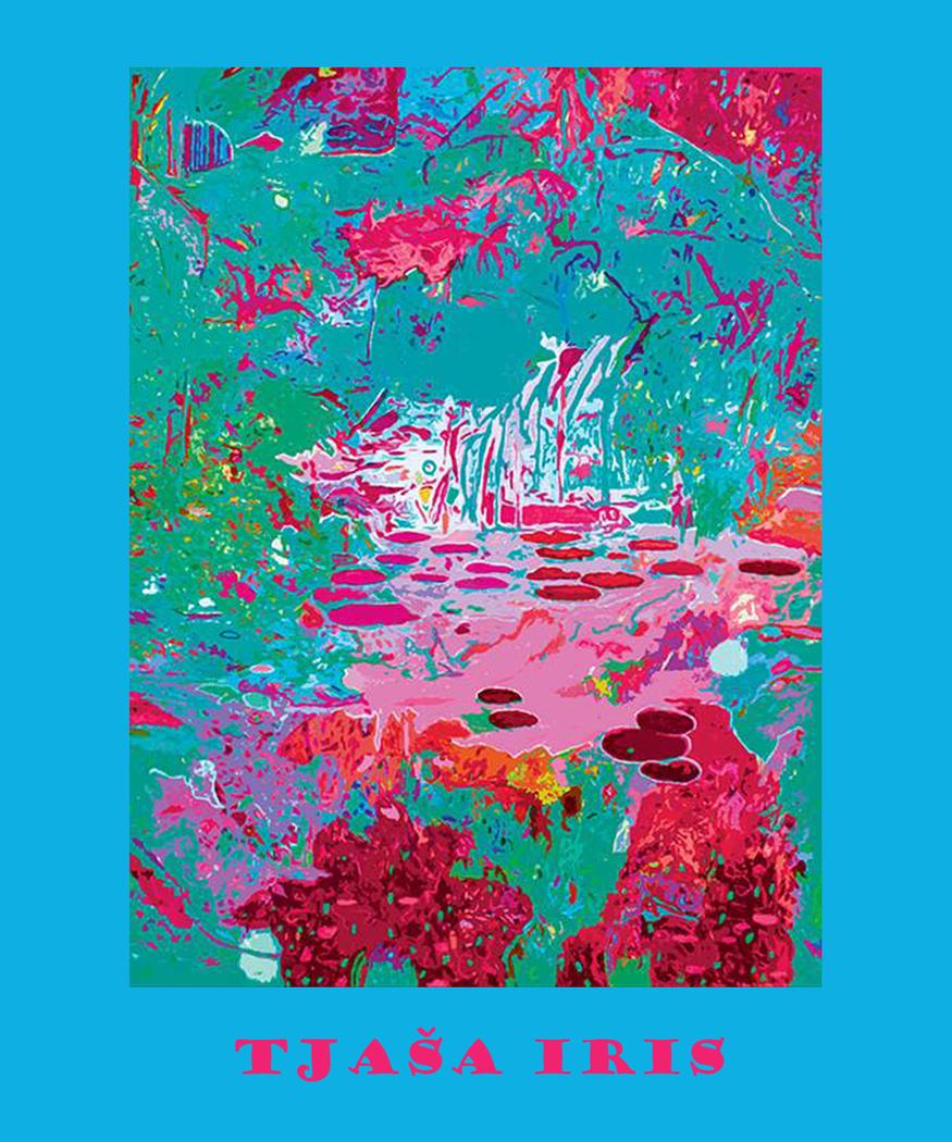 """LIGHT IN THE GARDEN, """"Light Blue"""", LE print of 35, 2014"""