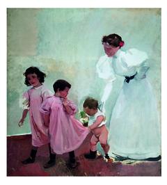 Ma femme et mes enfants