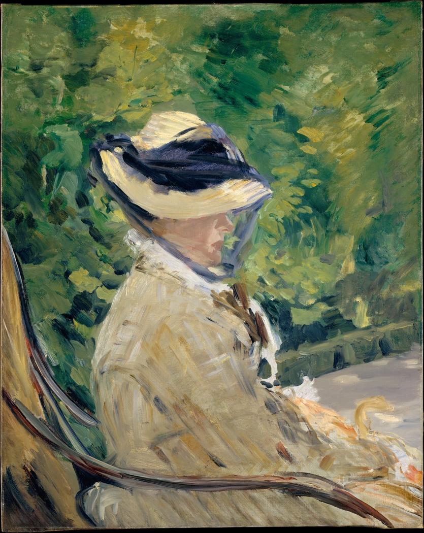 Madame Manet (Suzanne Leenhoff, 1830–1906) at Bellevue
