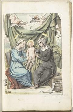 Madonna met kind en de Heilige Anna
