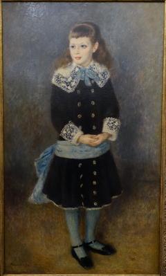 Marthe Berard by Pierre-Auguste Renoir