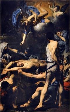 Martyre de Saint Proces et Saint Martinien