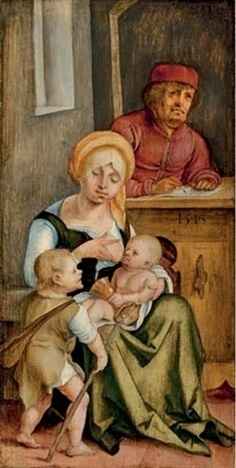Mary Salome and her family, 1513