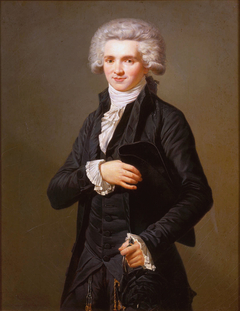Maximilien de Robespierre dressed as deputy of the Third Estate