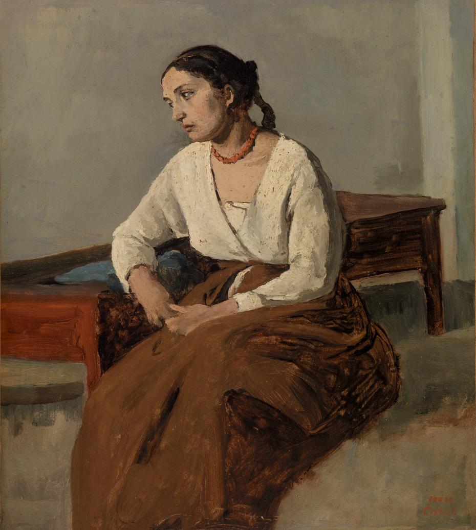 Melancholy Italian Woman (Rome) (Italienne mélancolique [Rome])