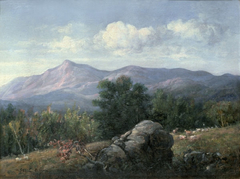 Moat Mountain from Jackson, New Hampshire