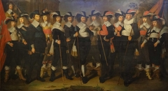 Officers and Guardsmen of the Company of Colonel Herman Herbertsz.