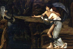Orpheus and Eurydice on the Banks of the Styx