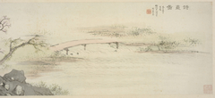 Paintings of Shikan (Shrine for Poetry) by Seven Masters