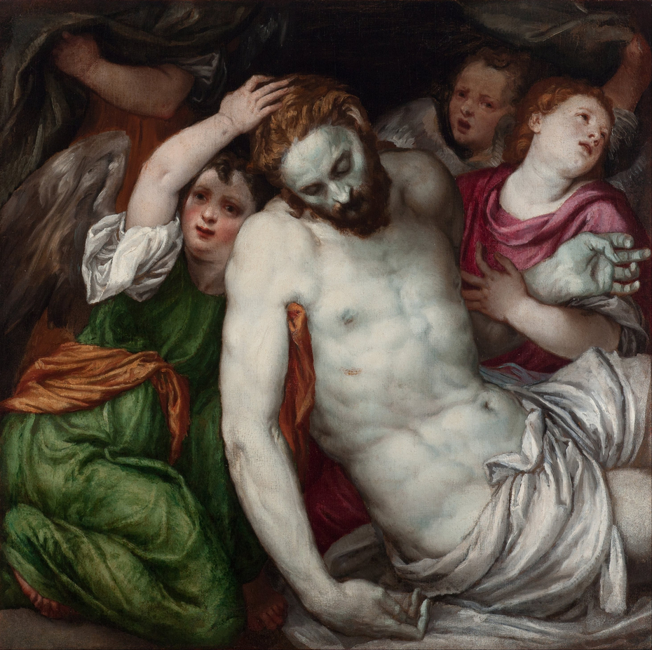 Pietà and Angels
