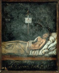Portrait de Louis-Michel Le Peletier de Saint-Fargeau (1760-1793), sur son lit de mort