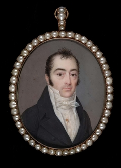 Portrait of a Gentleman with Initials A.S.N.