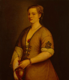 Portrait of a Lady with a Vase
