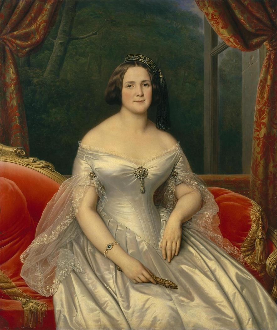Portrait of Anna Benardaki