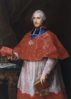 Portrait of Cardinal Jean-François Joseph de Rochechouart