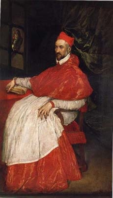 Portrait of Charles de Guise, cardinal of Lorraine, archbishop of Reims