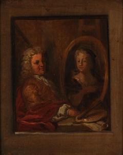 Portrait of Dionys van Nijmegen and Sara Stiermans