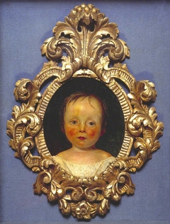 Portrait of Dykes Barry as a Child