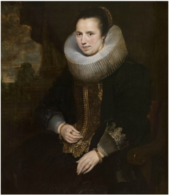 Portrait of Elisabeth Hoegaerts