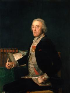 Portrait of Félix Colón de Larriátegui