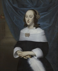 Portrait of Johanna de Lange (1635-1673)