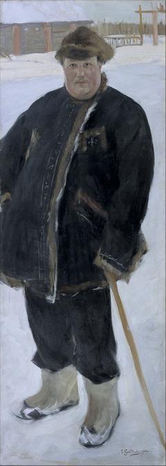 Portrait of landowner A P Warfolomev