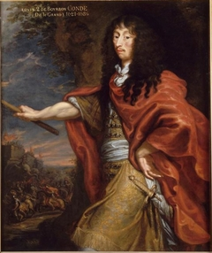 Portrait of Louis de Bourbon, Prince of Condé