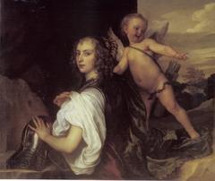Portrait of Margaret Lemon as Erminia