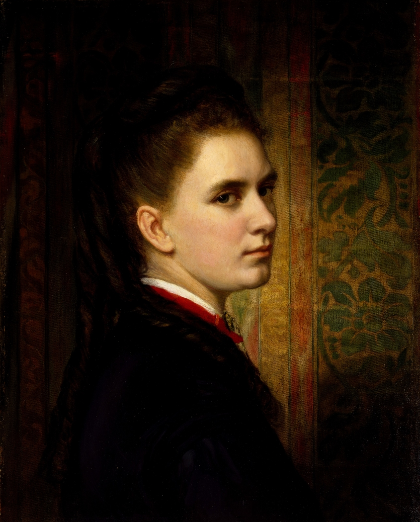 Portrait of Maria Healy, the Artist's Daughter