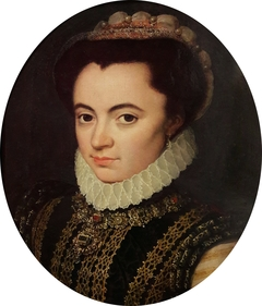 Portrait of Maria of Portugal, Duchess of Parma (1538-1577).