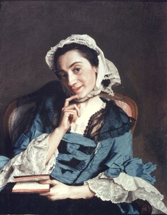 Portrait of Mme d'Epinay