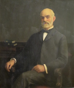 Portrait of Mr. Paxton's Father