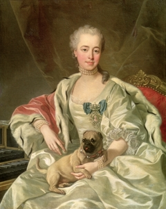 Portrait of Princess Ekaterina Dmitrievna Golitsyna (1720–1761), née Cantemir, wife of D.M. Golitsyn (1721–1793)