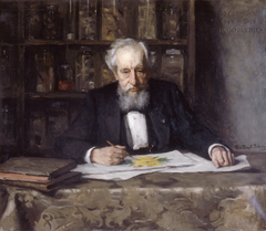 Portrait of Prof. Hugo de Vries
