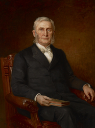 Portrait of Reverend Nathaniel A. Hyde