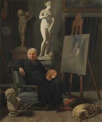 Portrait of the painter C. A. Lorentzen