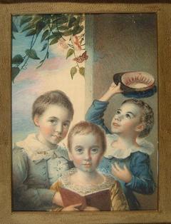 Portrait of Three Boys