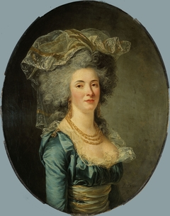 Portrait présumé de Philiberte-Orléans Perrin de Cypierre, comtesse de Maussion