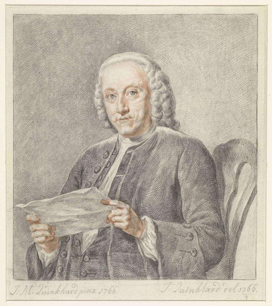 Portret van Hendrik Busserus