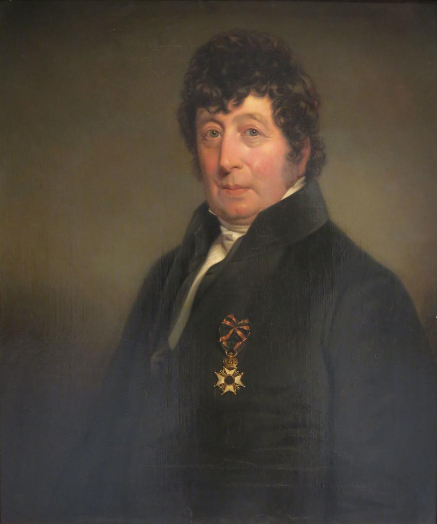 Portret van Jacob de Jong (1768-1838)