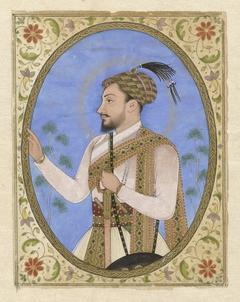 Portretminiatuur van Sultan Muhammad Adil Shah van Bijapur