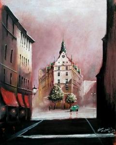 Prague - pastel