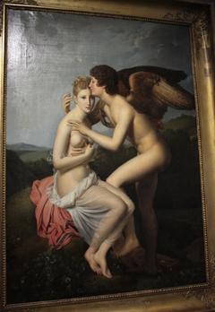 Psyché recevant le premier baiser de l'Amour