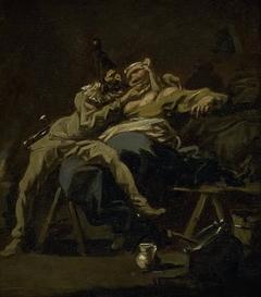 Pulcinella and Colombina