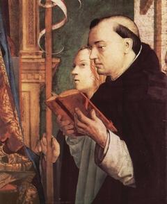 Right panel San Cassiano Altarpiece