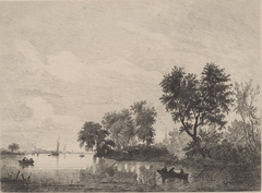 River scene on the Meuse