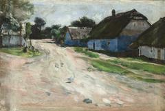 Road at Bronowice